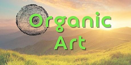 "Workshop Wednesdays: ""Organic ART"" hosted by Logan Lesley tickets"