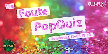 De Foute PopQuiz tickets