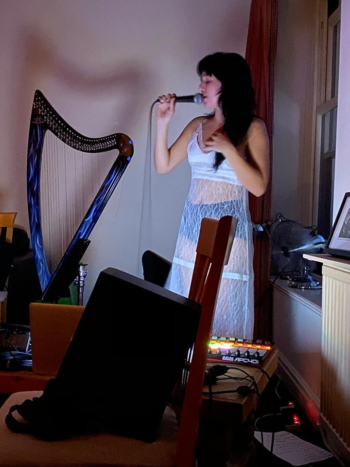 Life Drawing with Harp Player, Tatyana image