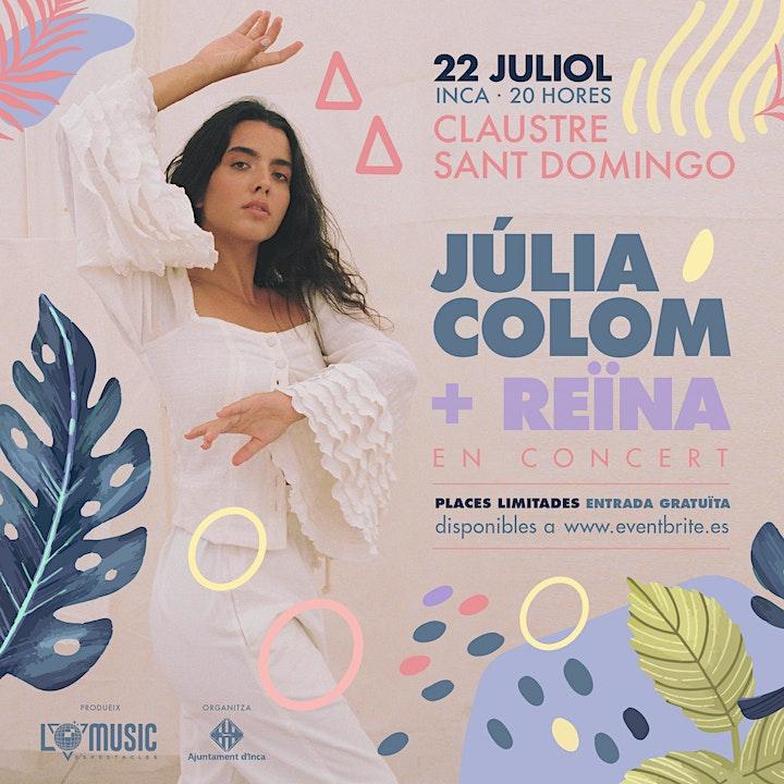 Imagen de Concert Júlia Colom + Reina