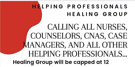 Helping Professional Healing Groups tickets