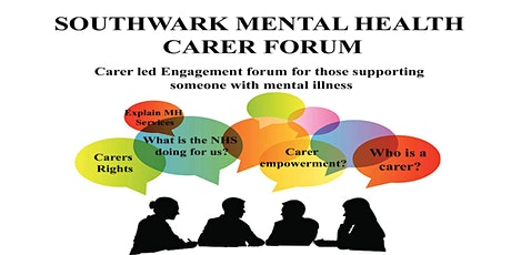 Joint Lambeth & Southwark Mental Health carers forum tickets
