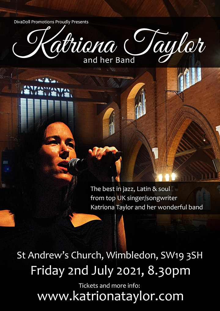 Katriona Taylor & her Band - Live at St Andrew's Church, Wimbledon image