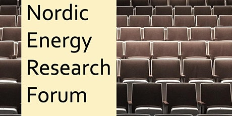 Nordic Energy Research Forum 2021 tickets