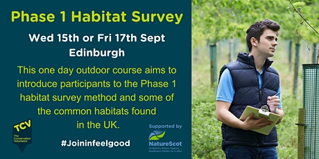 Phase One Habitat Survey (1 day outdoors, Edinburgh) tickets