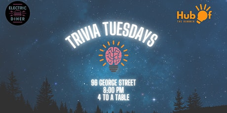 Tuesday Trivia at Electric Diner tickets
