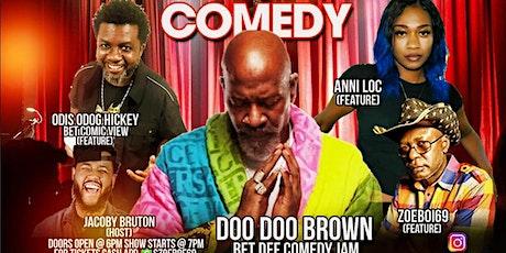 UNCENSORED COMEDY JAM   (Doo Doo Brown) tickets