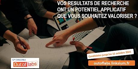 Challenge Out of Labs 12 (webinaire) :  les infos sur l'appel à projets! billets