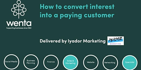How to convert interest into a paying customer tickets