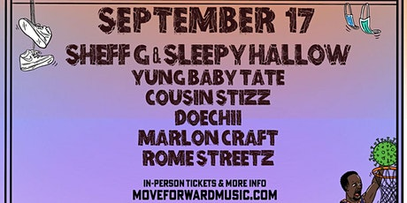 Sheff G & Sleepy Hallow, Yung Baby Tate + more tickets