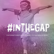 #INTHEGAP: Fostering christian responses to children in need logo