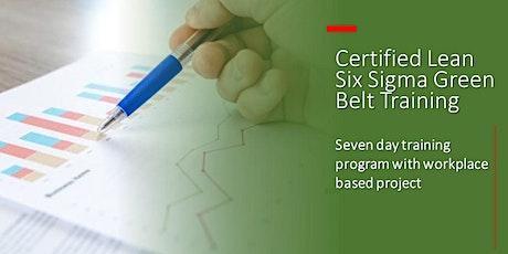 Lean Six Sigma Green Belt - Virtual Classroom Training tickets