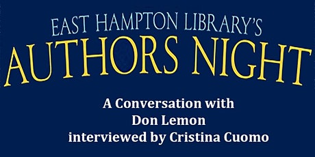 Authors Night  - A Conversation with Don Lemon tickets