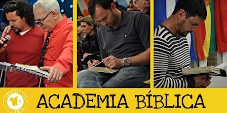 ACADEMIA BÍBLICA/QUARTA-FEIRA -  7:30PM - 28 DE JULHO tickets