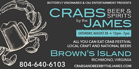 Crabs, Beers & Spirits by the James tickets