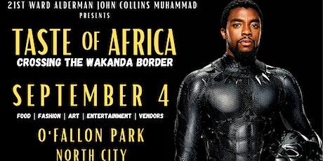 Taste of Wakanda 2021 tickets