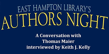 Authors Night  - A Conversation with Thomas Maier tickets