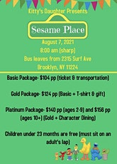 Sesame Place Family Trip tickets