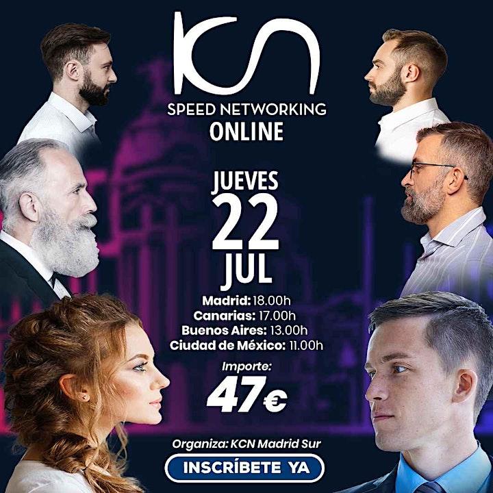 Imagen de KCN Madrid Sur Speed Networking Online 22 Jul