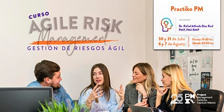 Agile Risk Management – Gestión de Riesgos Ágil boletos