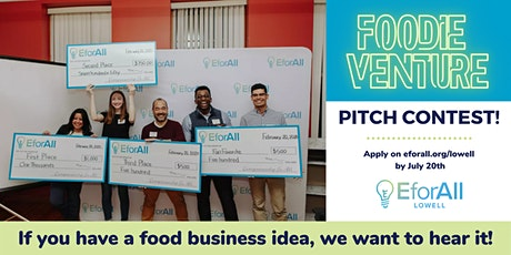 EforAll Lowell's Foodie Venture Pitch Contest tickets
