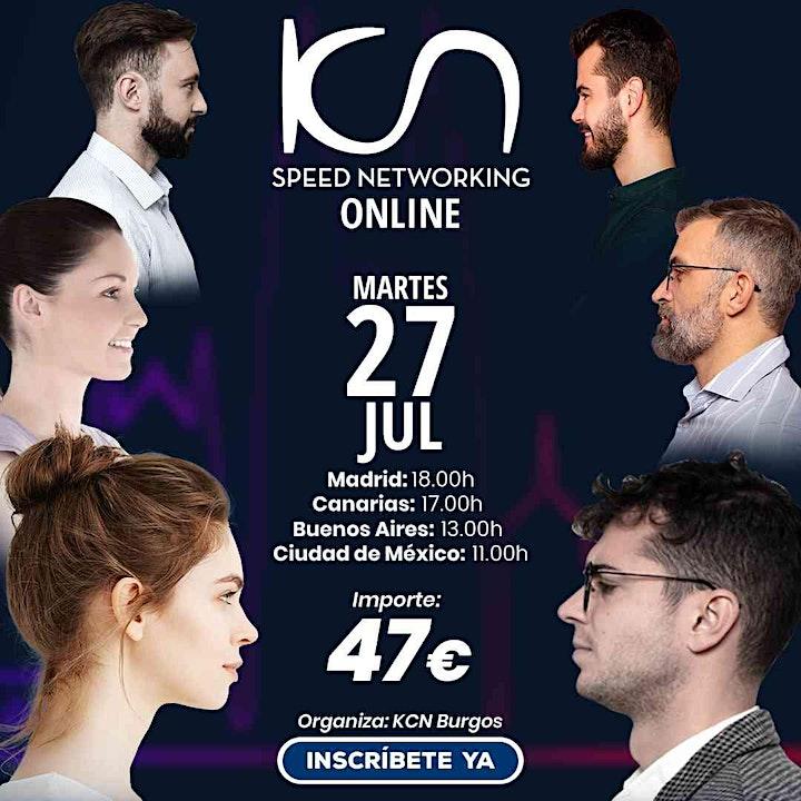 Imagen de KCN Burgos Speed Networking Online 27 Jul