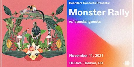 Monster Rally @ Hi-Dive Denver tickets