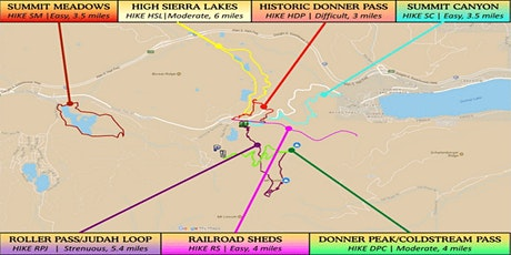 Donner Party Hike 2021 tickets
