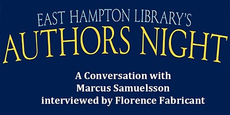 Authors Night  - A Conversation with Marcus Samuelsson tickets