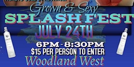 Splash Fest tickets