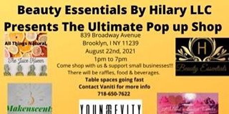 Beauty Essentials By Hilary LLC  Ultimate Pop Up Shop tickets