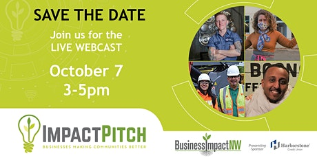 IMPACT Pitch: Save the Date! tickets