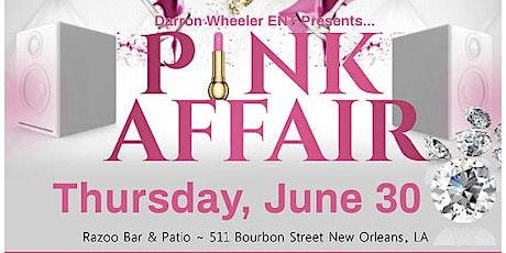 The PINK Affair EMF'22 with Darron Wheeler Entertainment tickets