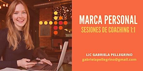 Sesiones 1:1 Creá tu Marca Personal // Modalidad Virtual entradas