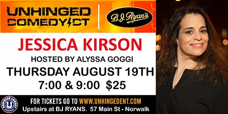 Unhinged Comedy presents: Jessica Kirson tickets