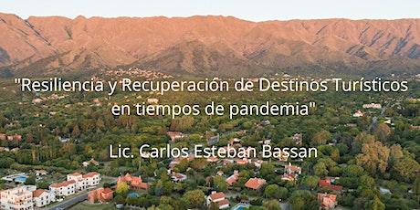 Curso: Resiliencia y recuperación de destinos turísticos en post pandemia entradas