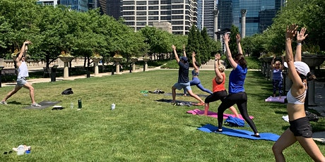 Flow with ROW Summer Yoga Series tickets