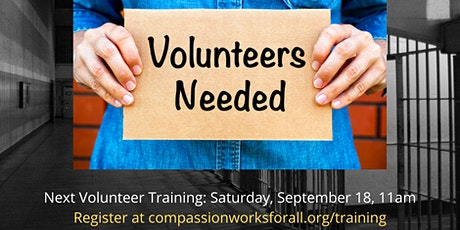 CWFA September Volunteer Training tickets