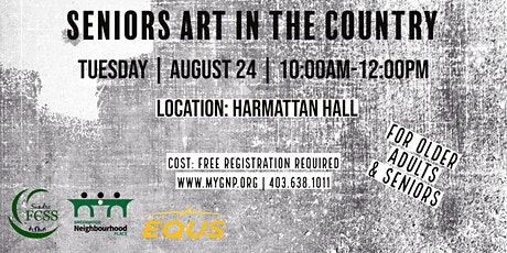 Seniors Art In the Country tickets
