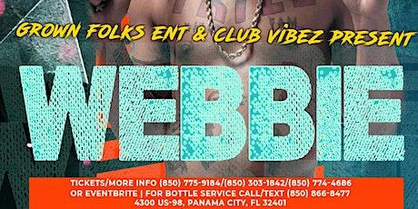 WEBBIE LIVE @Vibez tickets