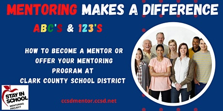 ABC's  and 123's ~ Mentoring Programs at Clark County School District tickets