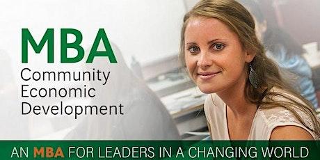 CBU MBA Weekends at NAIT: Next intake Sept 10th biglietti
