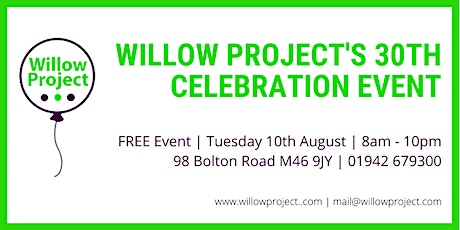 Willow Project's 30th Celebration Event tickets