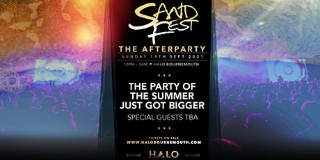 SandFest X Halo Presents... The After Party. tickets