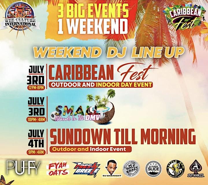 Caribbean Fest July 4th Weekend! image
