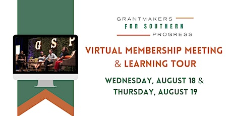 GSP 2021 Membership Meeting & Learning Tour tickets