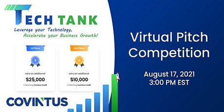 Covintus Tech Tank 2021 - Pitch Competition tickets