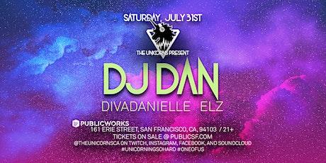 DJ Dan, divaDanielle & Elz presented by The Unicorns & Public Works tickets