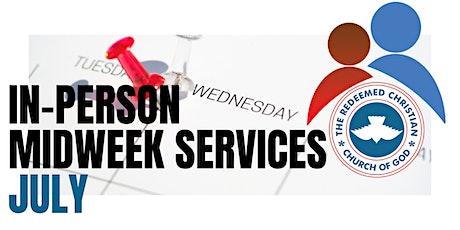 Midweek Services - July 2021 billets