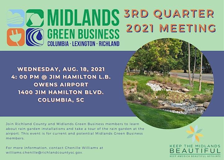 Midlands Green Business: 3rd Quarter Meeting! image